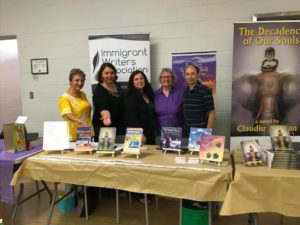 5 IWA members present at The Bookshelf