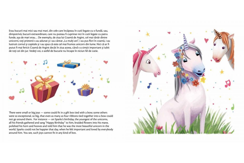 I Wish I Were a Unicorn Preview pages 6-7